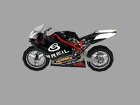 sport bike 3d max