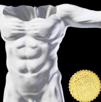 3ds max resolution sculpted res body