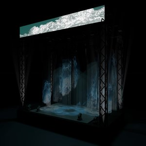 cinema4d stage intelligent lighting