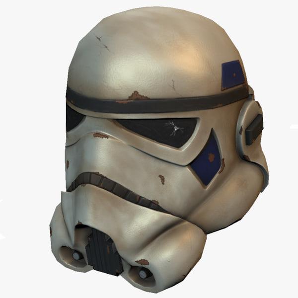 maya stormtrooper helmet