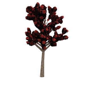 tree leaf 3d blend