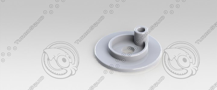 3d model gas valve