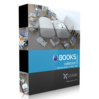 CGAxis Models Volume 23 Books C4D
