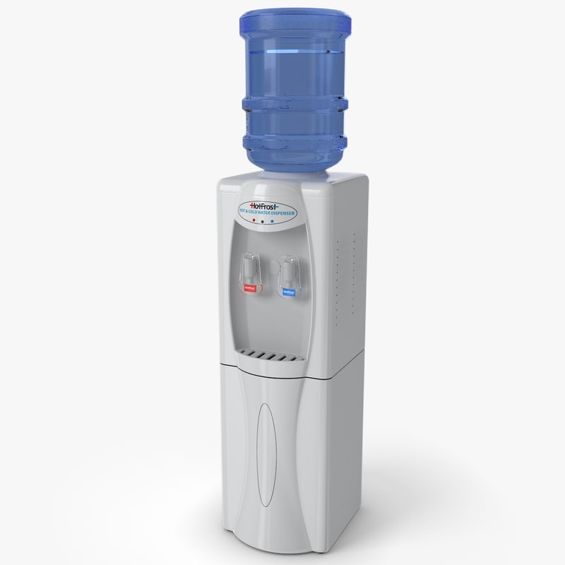 3d model of water cooler