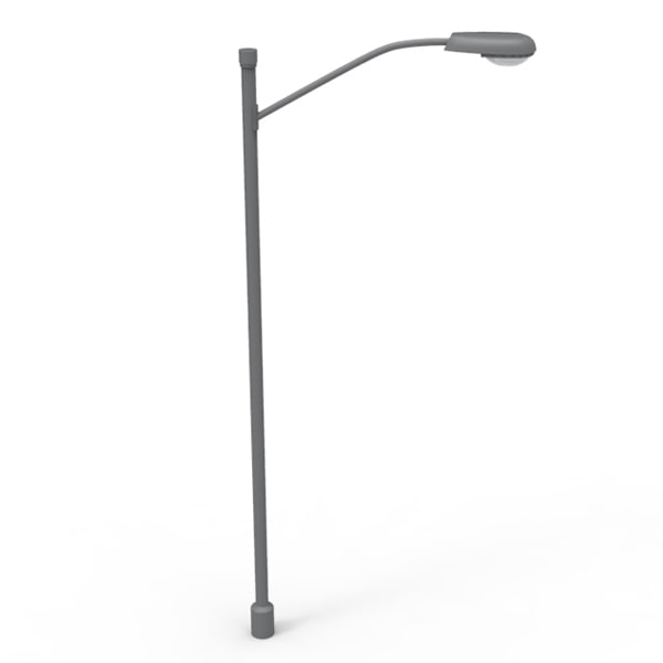 3d model streetlight light street