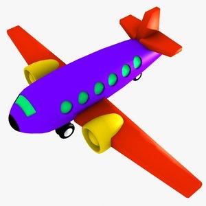 3ds max plane plane toy