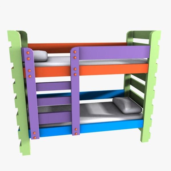 bunk child 3d 3ds