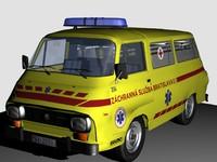 van car 3d model