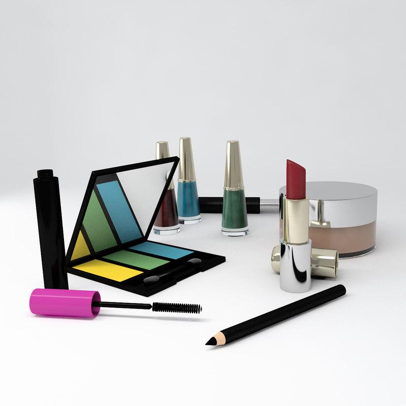 3ds max make lipstick pencil
