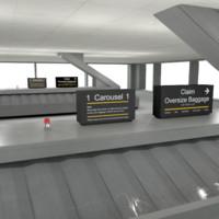 generic baggage carousel max