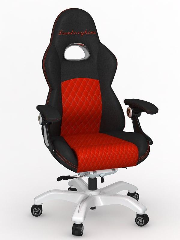 3d 3ds car chair