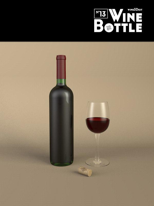 3ds bottle 13 wine