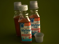 COLD MEDICINE BOTTLE 354ML 2011