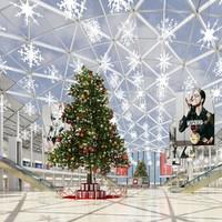 christmas mall 3d model