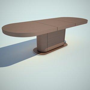 3d model ceccotti collezioni table
