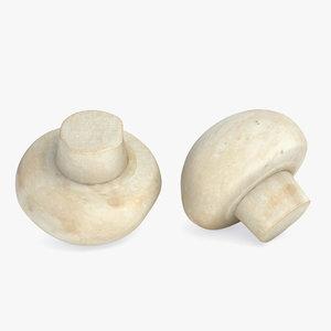 3ds max mushroom champignon