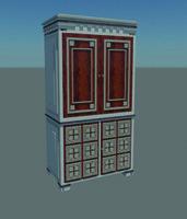 3d model armoire