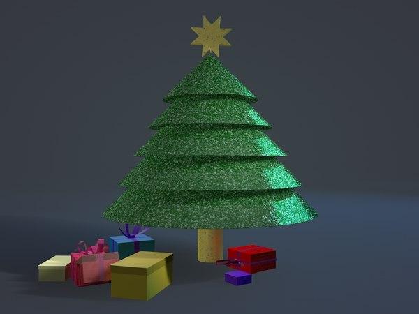 christmas tree c4d free