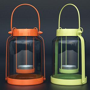 3d max john lewis candle lantern