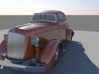 classic car obj