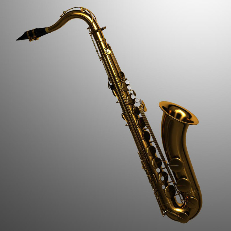3d saxophone tenor selmer model