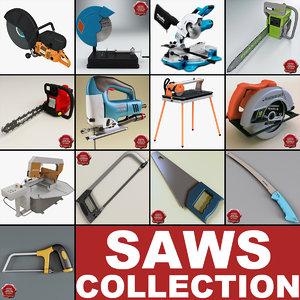 3d model saws 7