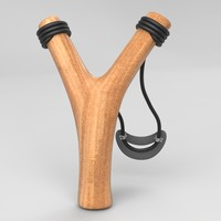 3d model stick slingshot