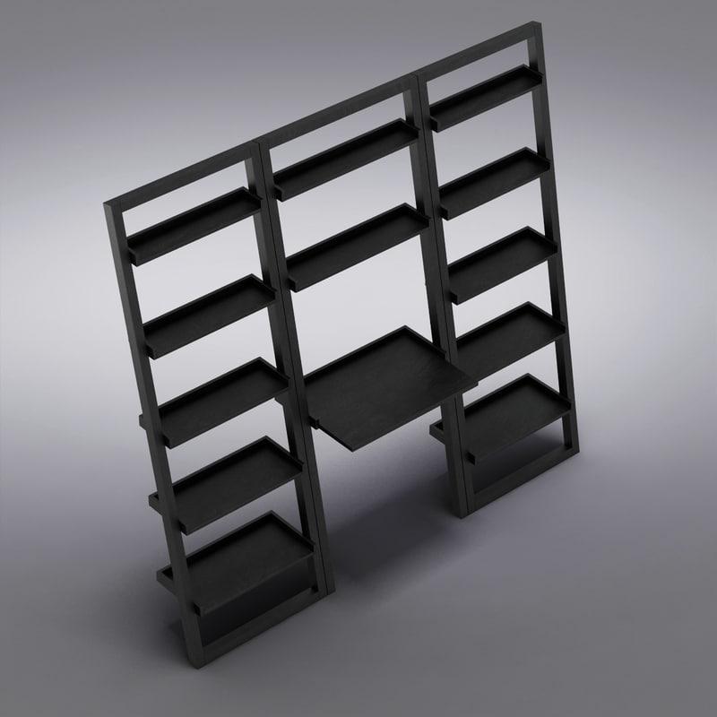 crate barrel - sloane 3d max