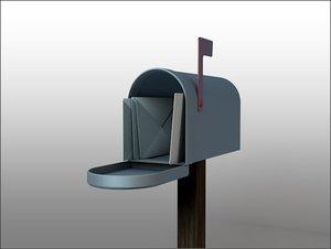 3d mailbox mail