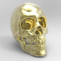 skull printing obj
