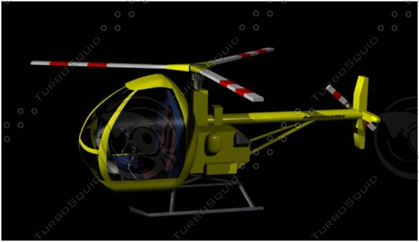 aerocopter 3d lwo