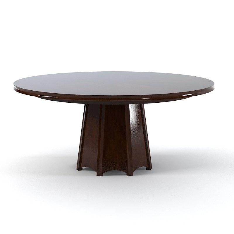Baker 3637 Barbara Barry Encircle Dining Table