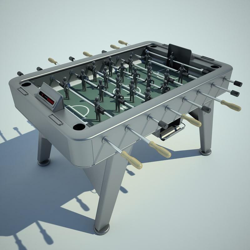 max table football ball