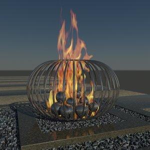 sculpture pit 3d model