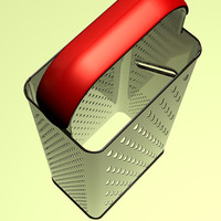 3d kitchen grater model