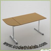 wood set 3d model