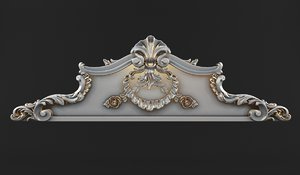 3d max carved crown