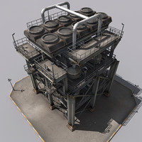 3d refinery parts