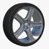 3d wheel spoke rim