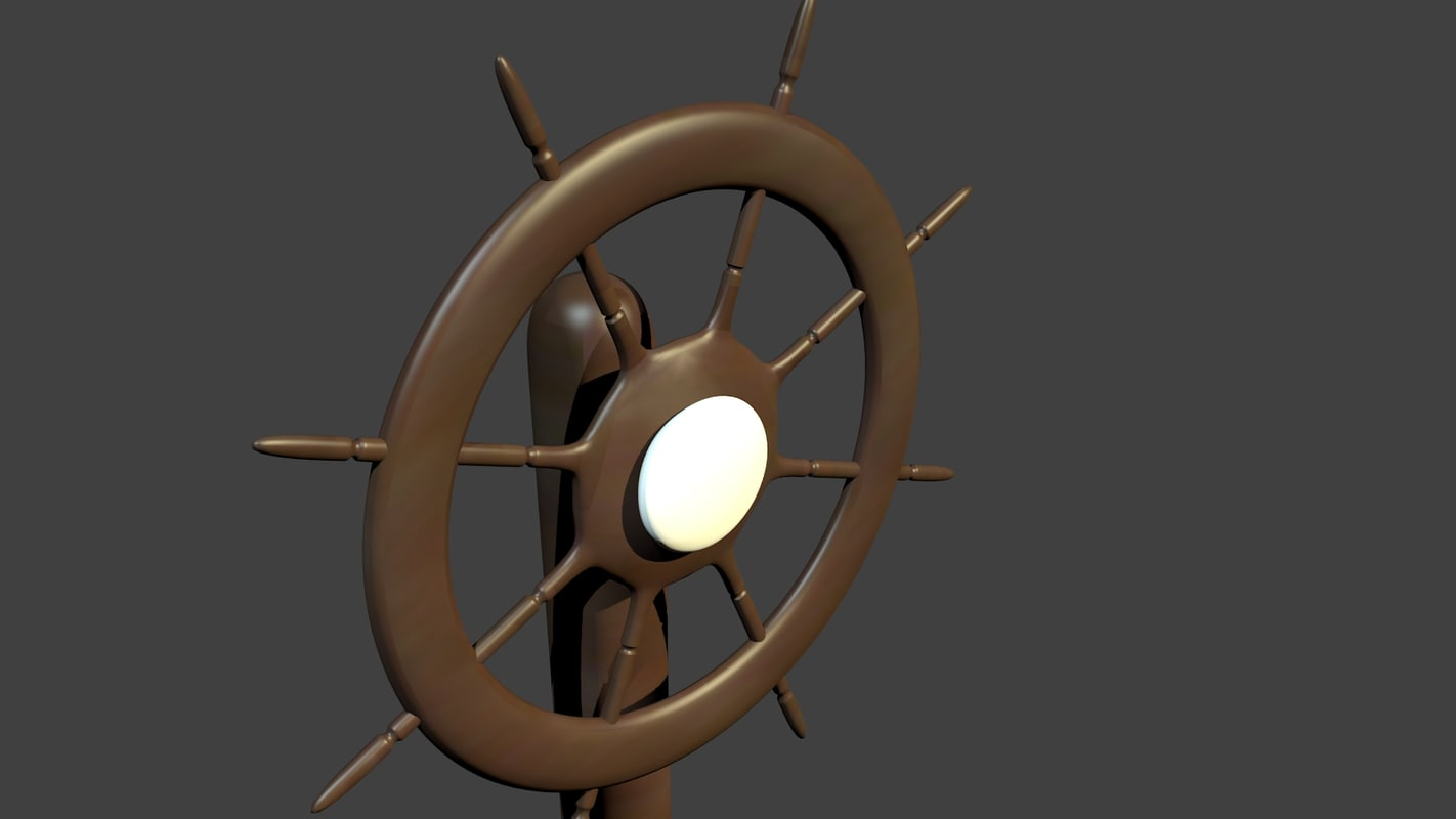 3ds max ship helm