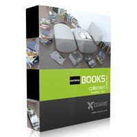 book set paper 3d max