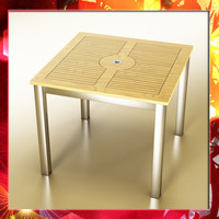 3d model outdoor table