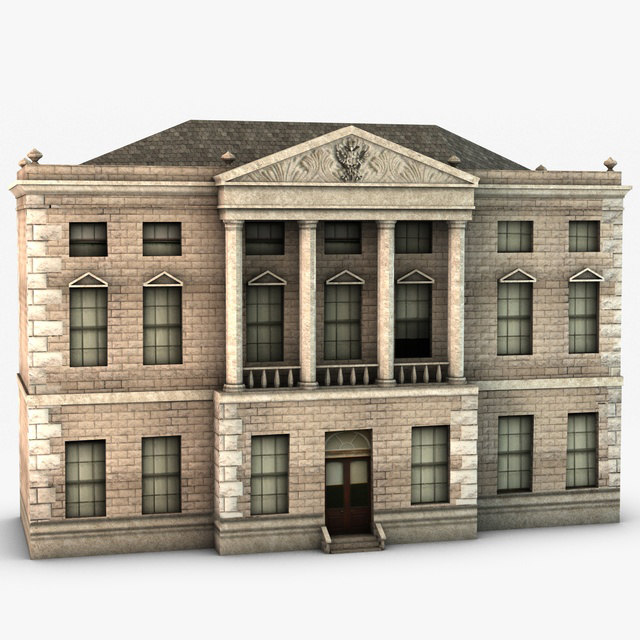 max classical style building