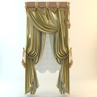 Elegant Baroque Curtains