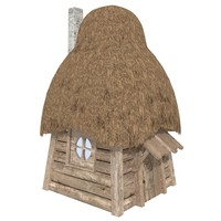 fantasy house log cabin max