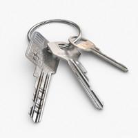 open key 3d model
