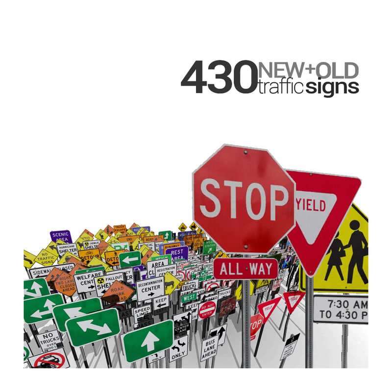 3ds max 430 signs