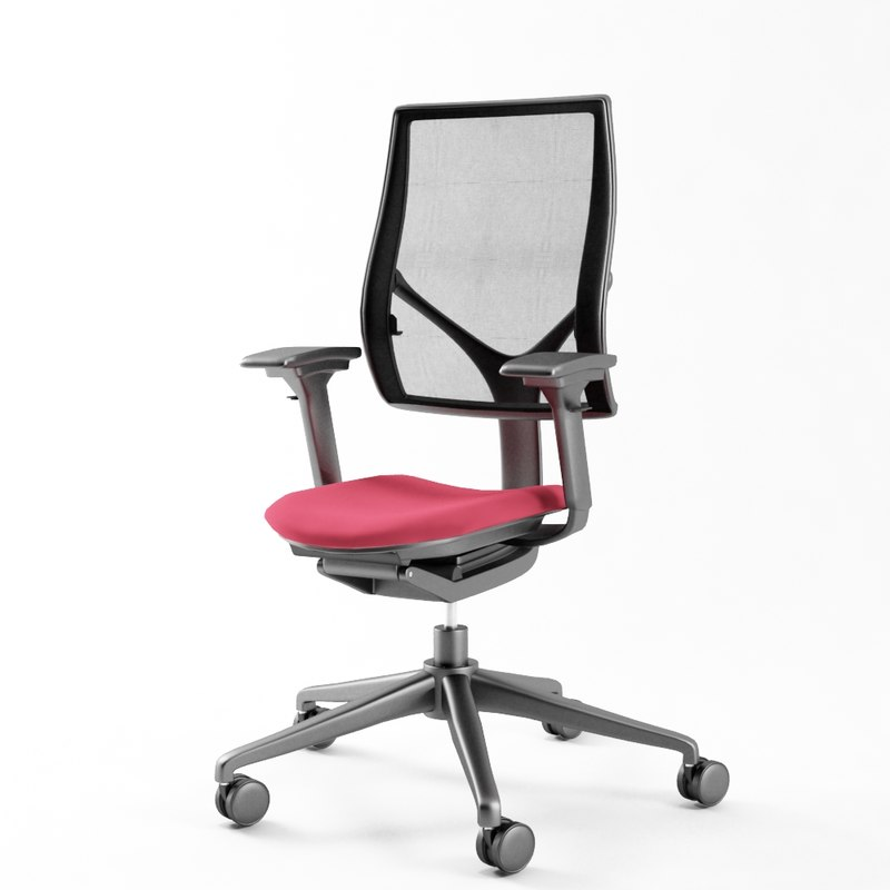 steel relate chair max
