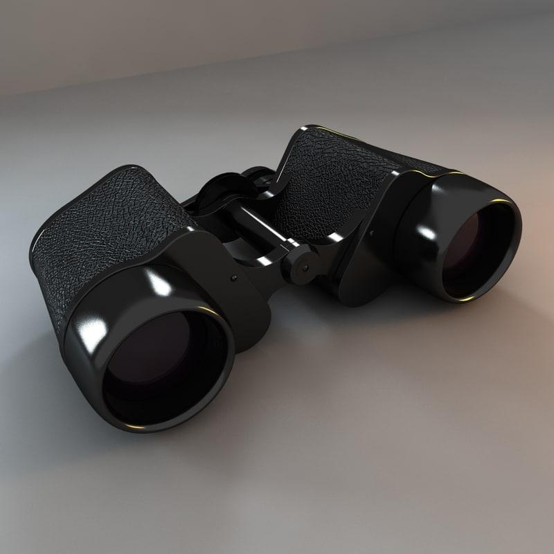 3ds max military binoculars