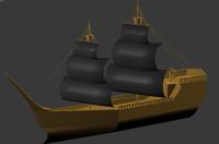 sail 3d model